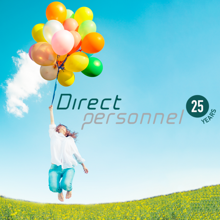 Direct Personnel celebrates 25 Years!
