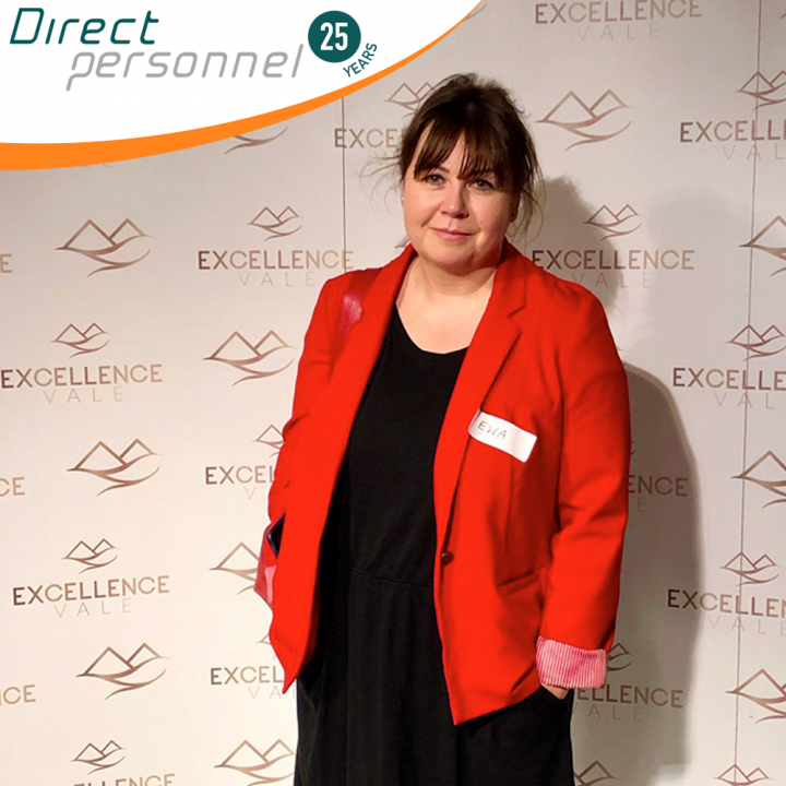 Ewa Adams, Contracts & Administration Manager, Direct Personnel, attends business training conducted by Kamila Rowenski in London. Our top talent deserves the best!
