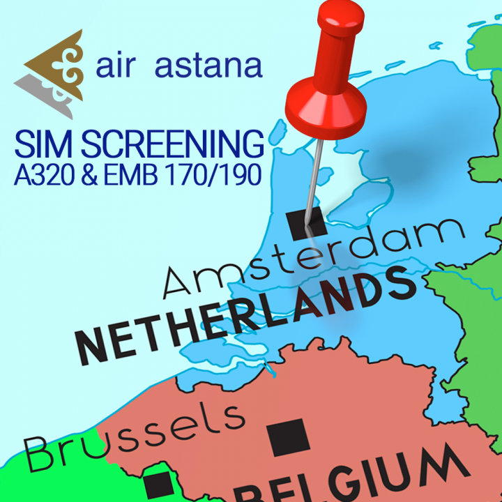 Sign up for SIM screening to join Air Astana - Direct Personnel