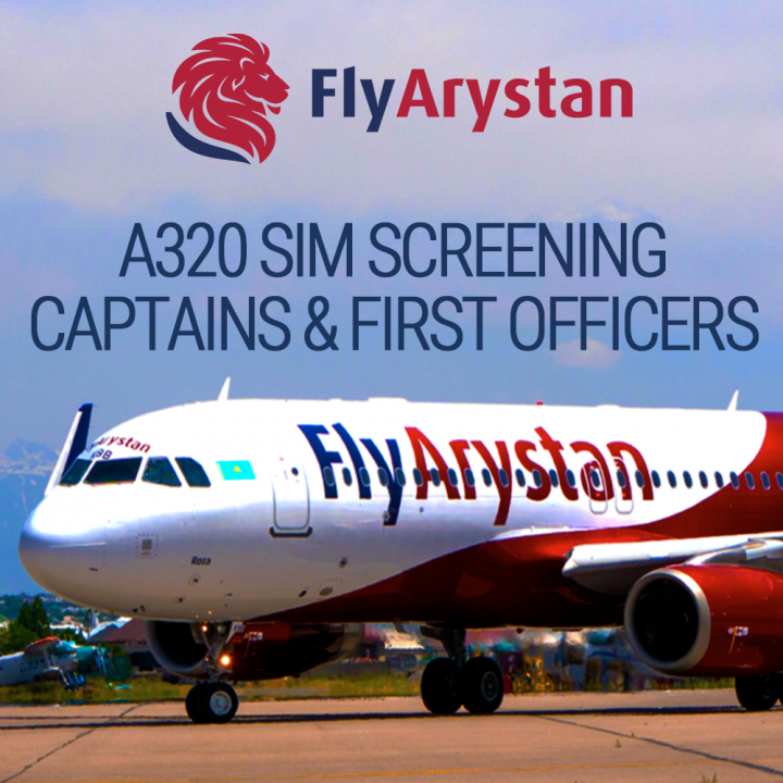 Sign up for SIM screening to join FlyArystan - Direct Personnel
