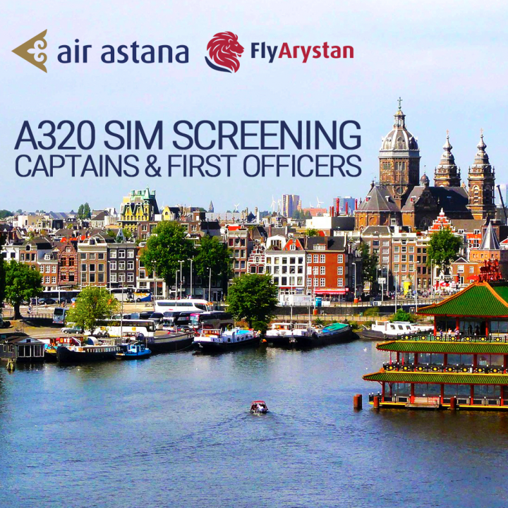 Sign up for SIM screening to join the Air Astana Group- Direct Personnel