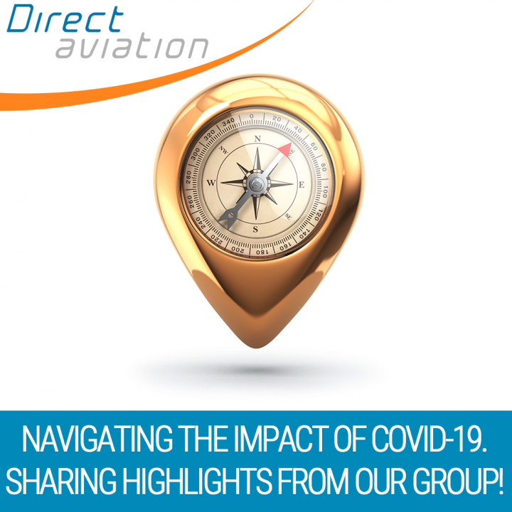 Direct Aviation Group news, Direct Aviation business update, aviation industry news, navigating covid-19, airline industry, rail industry - Direct Aviation