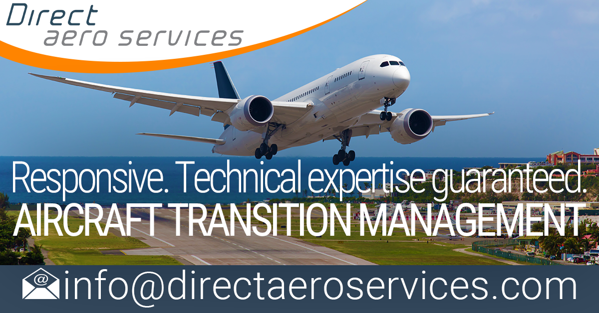 aircraft transition management support, ferry flights, test flights, aircraft delivery, aircraft re-delivery, technical consulants, records scanning teams, aircraft technical consultants, aircraft management, CAMO - Direct Aero Services