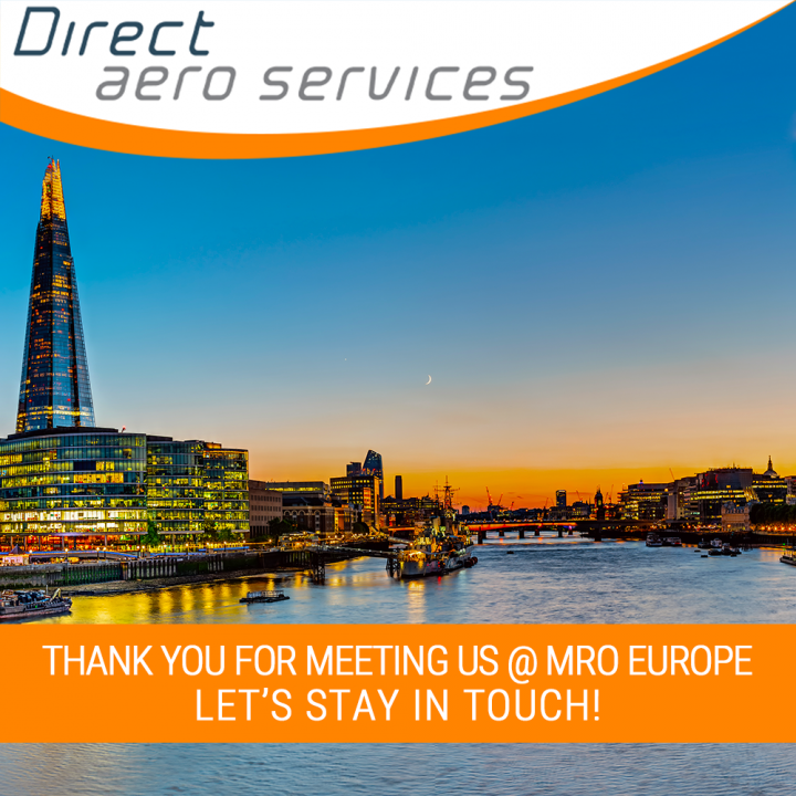 MROE, MRO Europe 2019, Direct Aero Services  MRO Europe 2019, Paul Hyland attended MRO Europe, thank you for meeting us at MRO Europe, 360° Aircraft Storage Solutions, Aircraft parking, Aircraft Storage, Aircraft technical solutions, Aviation lessor servi