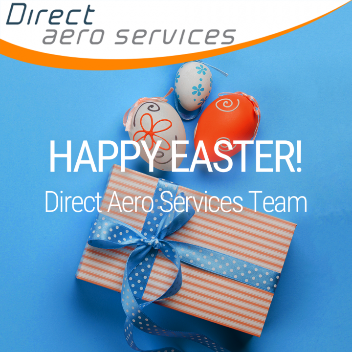 Happy Easter, Easter weekend 2020, aircraft leasing, lessors, air finance, aviation leasing, technical support, aircraft parking - Direct Aero Services