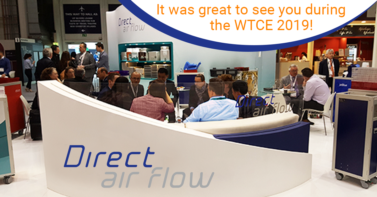 Direct Air Flow thanks customers for visiting them at the WTCE in Hamburg.