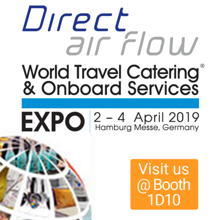 Direct Air Flow is exhibiting at the WTCE 2019, alongside sister company Korita Aviation