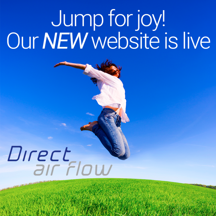 Direct Air Flow launches new website, Direct Air Flow releases new website, DAF new website