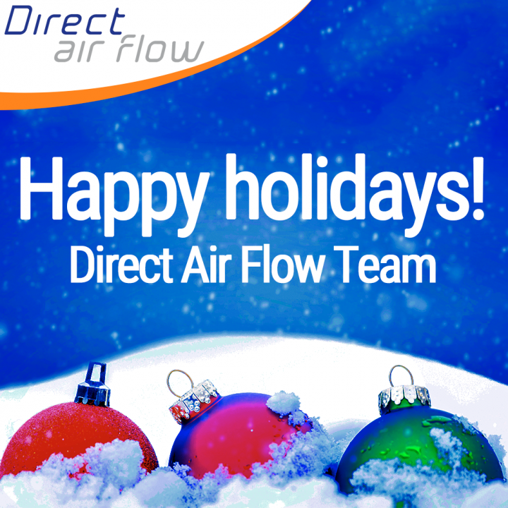 Happy holidays, airline industry, Merry Christmas, Happy New Year, inflight, galley inserts, inflight catering equipment, in stock - Direct Air Flow