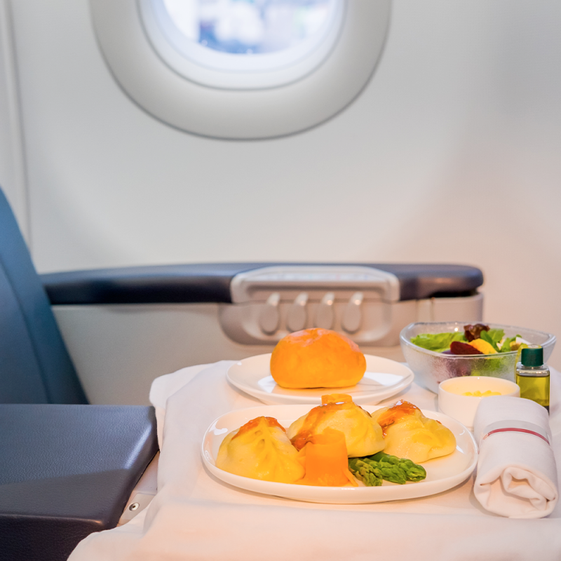 Aviation Galley inserts for inflight service ch
