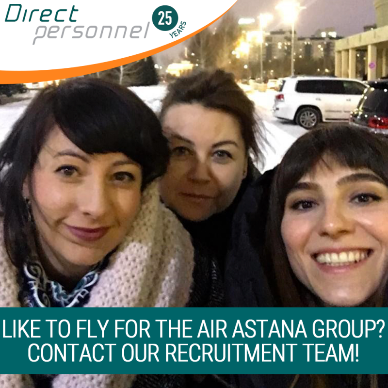 Visiting the Air Astana Group, Low hours pilot jobs, Meeting with Pilots in Kazakhstan, Pilot Jobs Air Astana, Pilot Jobs FlyArystan, contact Direct Personnel, Pilots apply - Direct Personnel