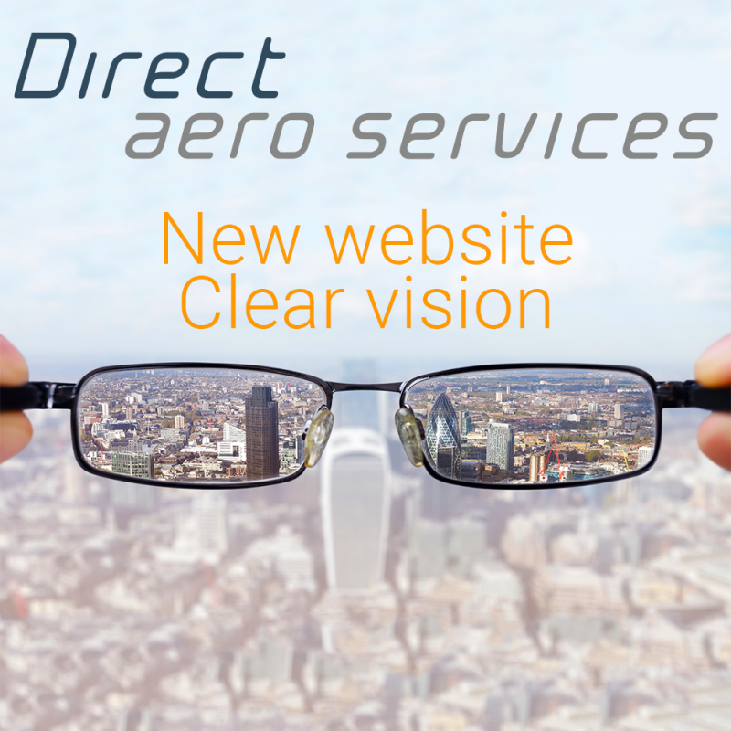 Direct Aero Setrvices launches new website - Direct Aero Services