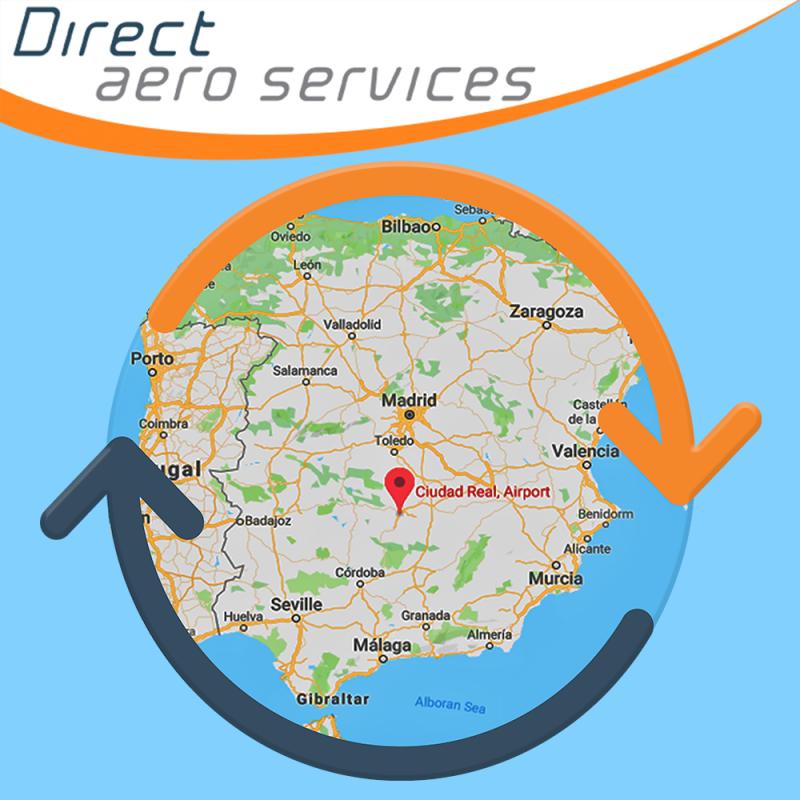 NEW Service - Aircraft parking and aircraft storage services, 360° Aircraft Storage Solution - Contact Direct Aero Services
