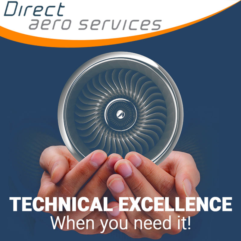 Direct Aero Services Team, Aircraft technical support service, aircraft technical solution service provider, aircraft parking and storage service provider - Direct Aero Services