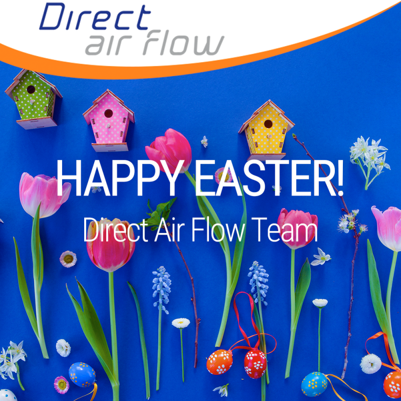 Happy Easter, airline industry, travel industry, onboard hospitality - Direct Air Flow