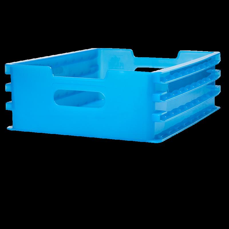 ALUFLITE POLYPROPYLENE 3-RUNNER DRAWER, 3-runner polypropylene drawers, multi runner drawers, multi runner inflight service drawers, 3-runner airline cart drawers, 3-runner plastic catering drawers - Korita Aviation