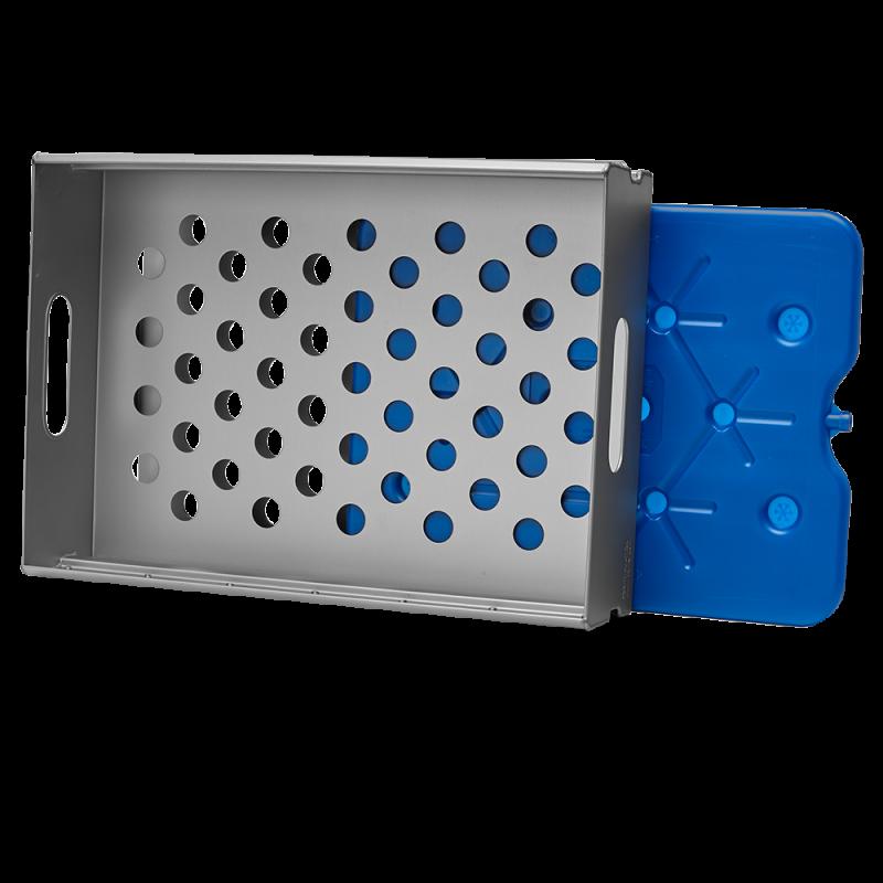 Aluflite aluminium cooling drawer, aluminum cooling drawer, inflight cooling drawer - Korita Aviation