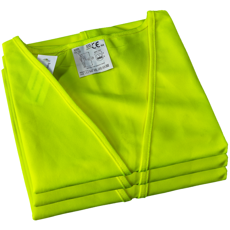 Direct Air Flow supplies high visibility safety vests, Aviation safety vests, high visibility safety vest suppliers, ground staff safety vests, line maintenance safety vests - Direct Air Flow