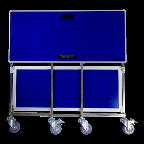 Aluflite folding trolley, aviation folding trolley, airline folding trolley, inflight folding trolley, folding service trolley - Korita Aviation