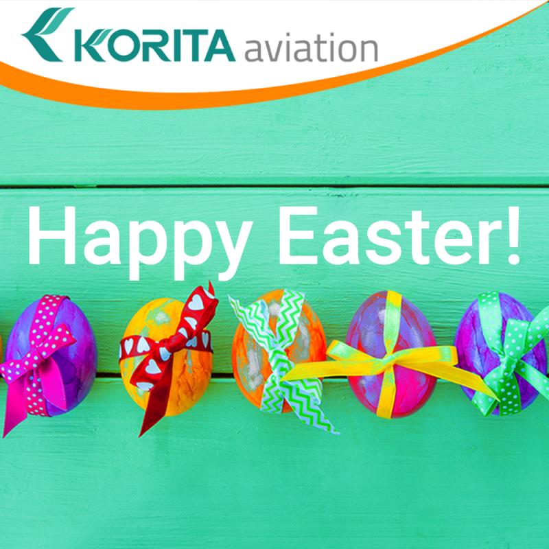 Happy Easter, easter break, travel industry, aviation industry, rail industry, galley insert equipment - Korita Aviation