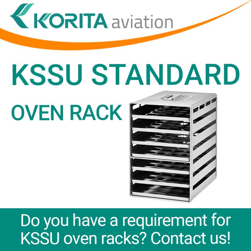 KSSU standard oven racks, inflight galley, galley oven trays, aircraft galley oven racks, airplane oven racks, Aluflite oven racks, aviation oven racks, airline catering oven racks - Korita Aviation