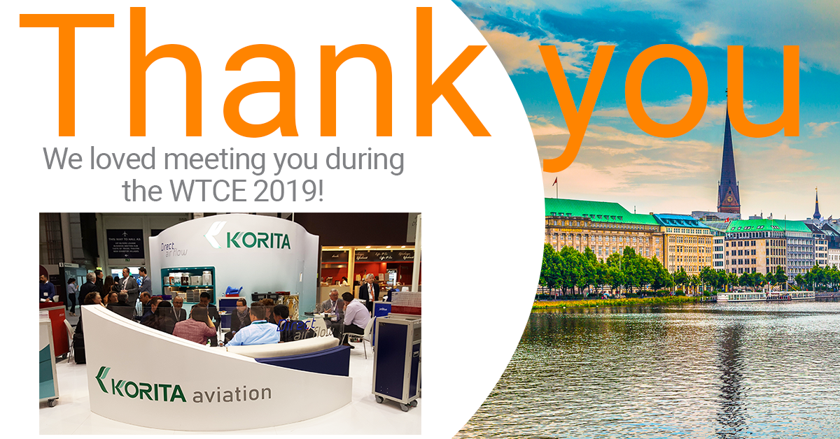 Thank you for meeting us during the WTCE 2019.