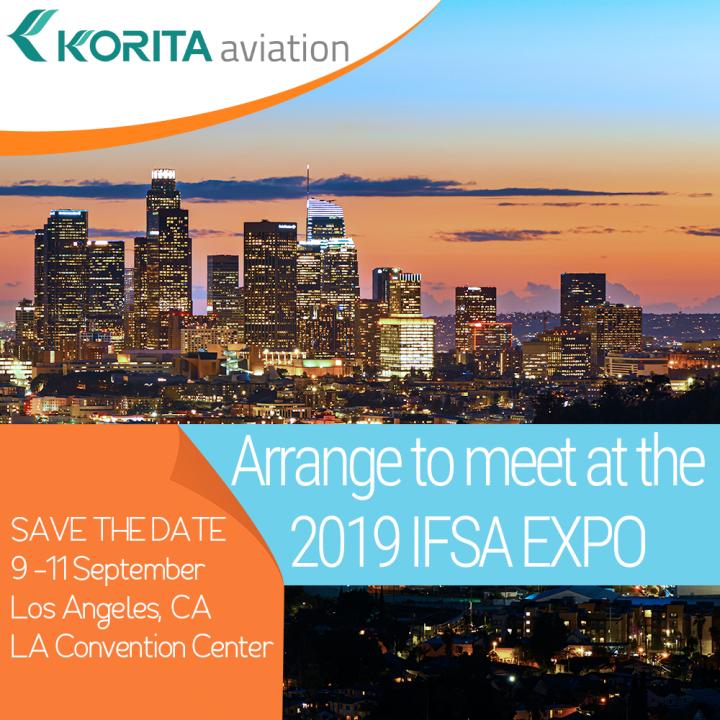Korita Aviation is attending the 2019 IFSA EXPO, Meet Jamie Melleney, Sales Manager, Korita Aviation at the 2019 IFSA EXPO, Galley insert equipment manufactureres 2019 IFSA EXPO, galley equipment IFSA 2019