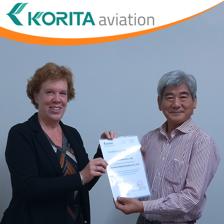 Korita Aviation appoints Koukuukizia Co., Ltd as their approved repair station for galley insert equipment in Japan - Korita Aviation
