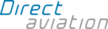 Direct aviation logo